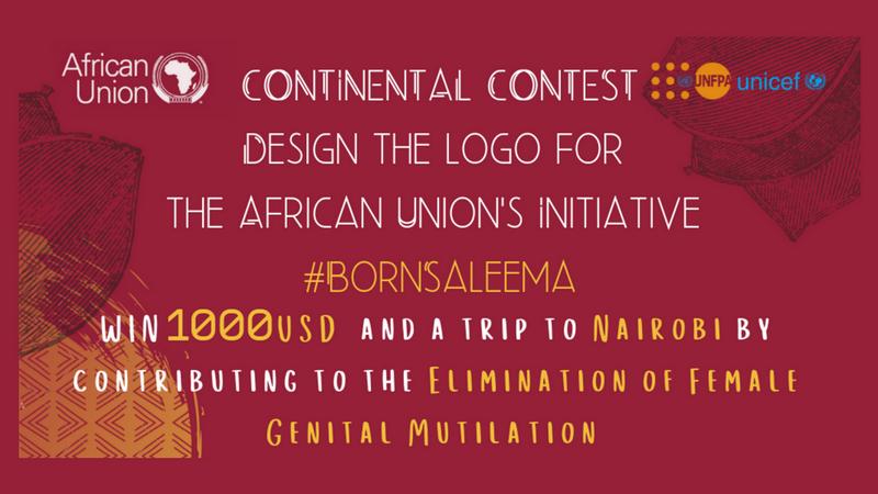 African Union Youth Envoy Saleema Effort Logo Design Competitors 2019 (Win a $1,000 USD reward)