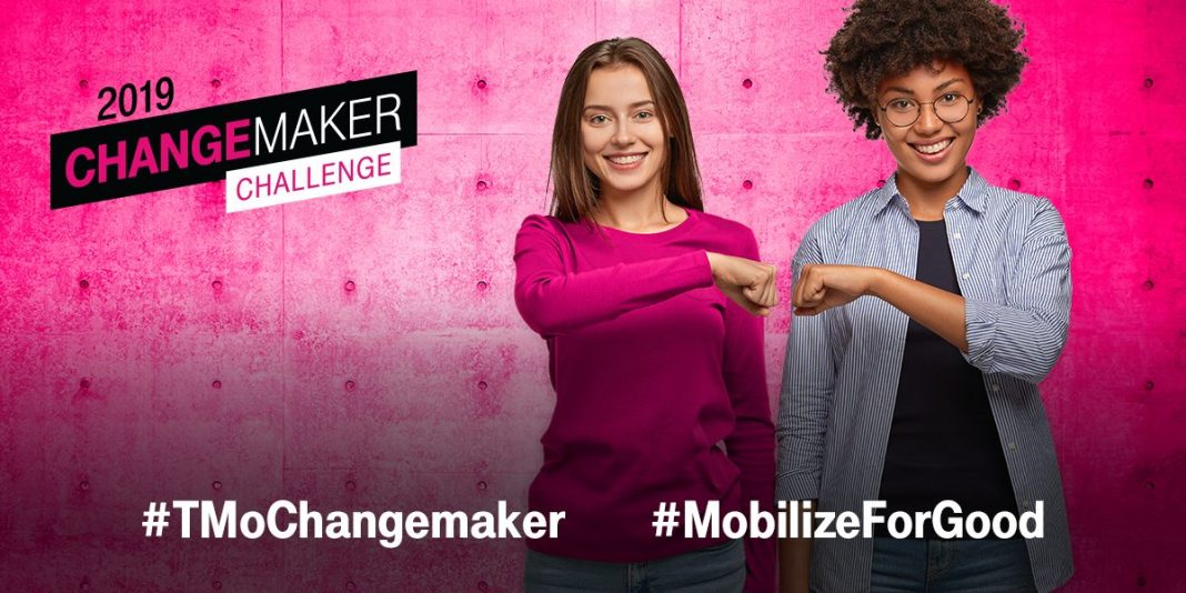T-Mobile Changemaker Difficulty 2019 for Young Leaders in United States and Puerto Rico (Win $2,000 seed financing plus more)