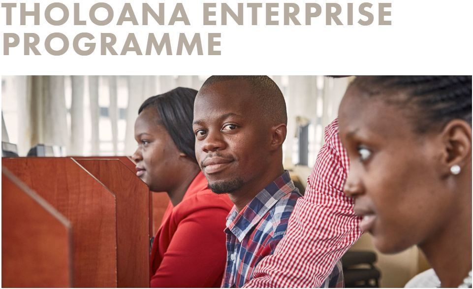 SAB Structure Tholoana Business Program 2019 for South Africans