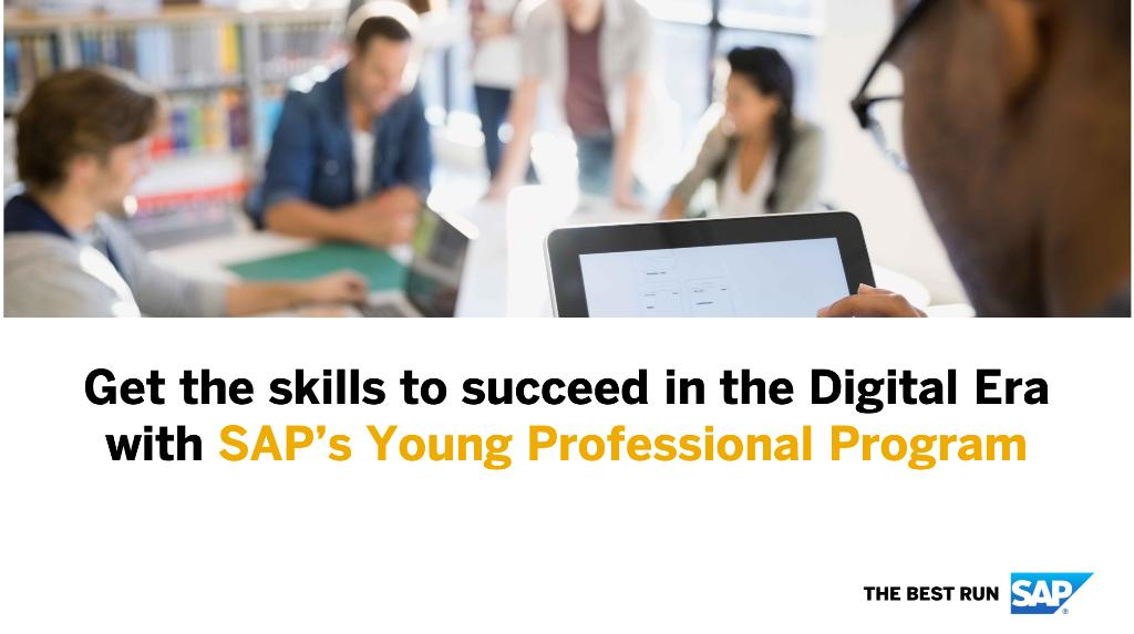 SAP Africa Young Specialist Program 2019 for young Graduates