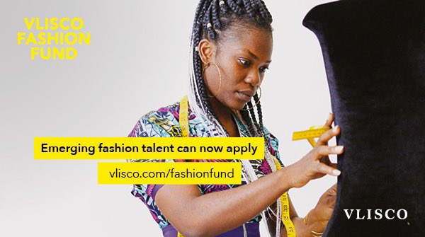 The Vlisco Style Fund 2019 for emerging designers and tailors (EUR5000 reward)