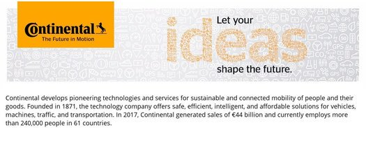 Continental GraduateInTraining Program2019 for young South Africans