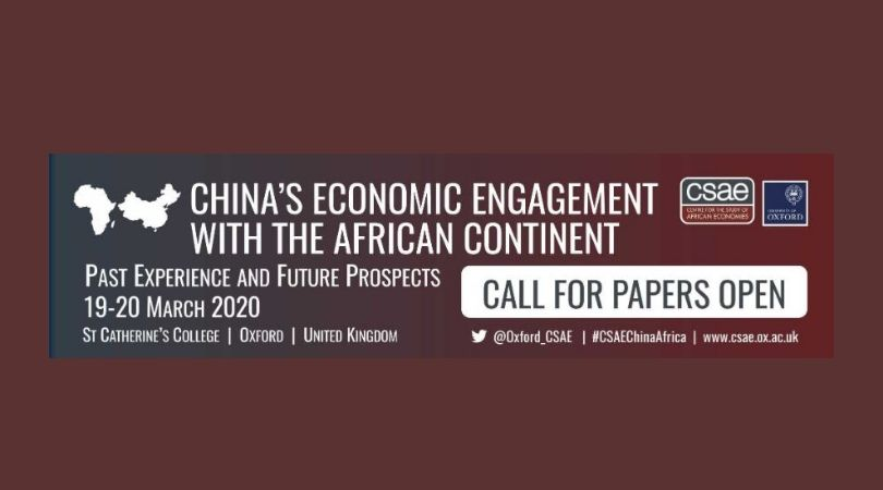 Require Documents: University of Oxford Centre for the Research Study of African Economies (CSAE) Conference 2020