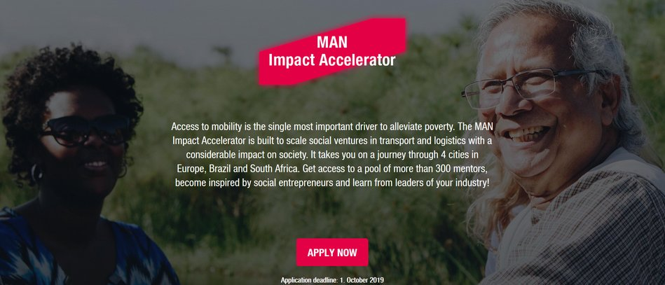 The GUY Effect Accelerator Program 2019 for Social Business Owners (Completely Moneyed & &50,000 USD grant)