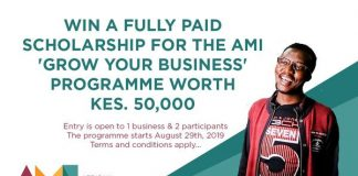 AMI Grow Your Service (GYB) Program 2019– Nairobi, Kenya
