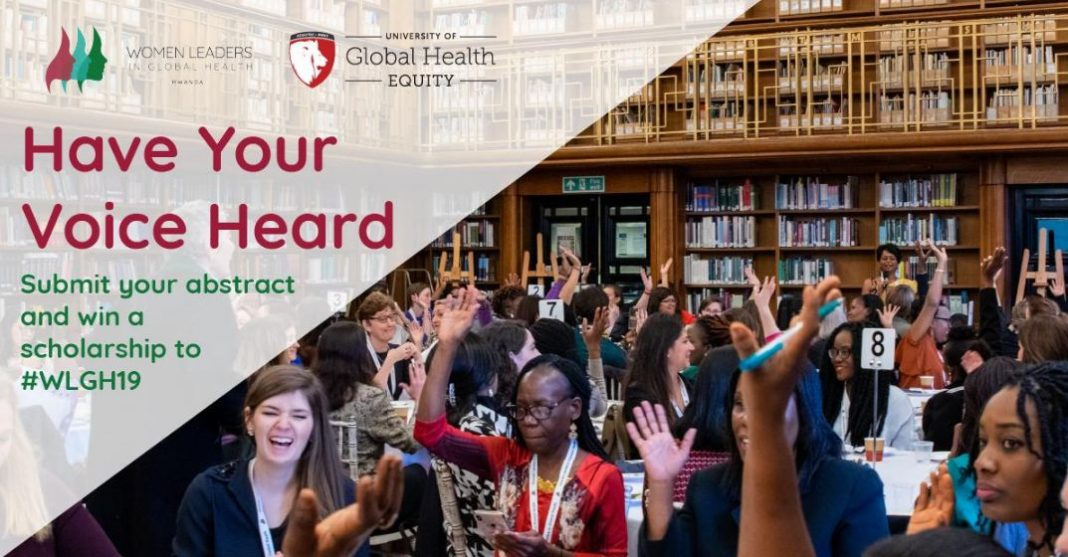 Require Abstracts: Ladies Leaders in Global Health Program 2019 (Scholarship offered)