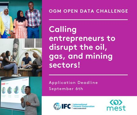 MEST Africa/IFC OGM Open Data Difficulty 2019 for young Business owners.