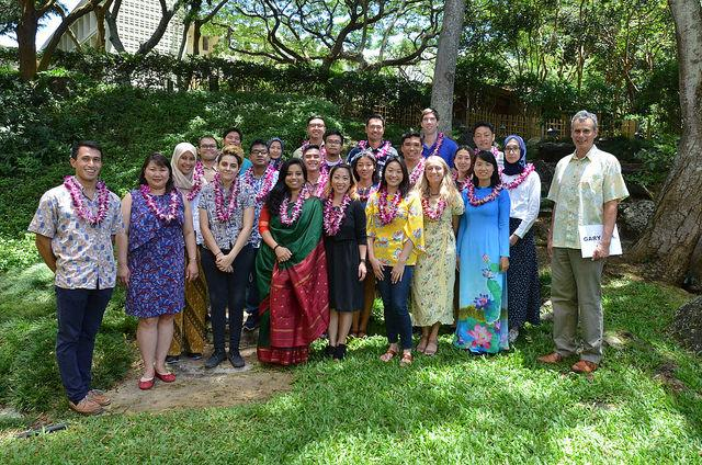 East-West Center Academic Degree Fellowship 2020/2021 to study at the University of Hawai'i at Mānoa