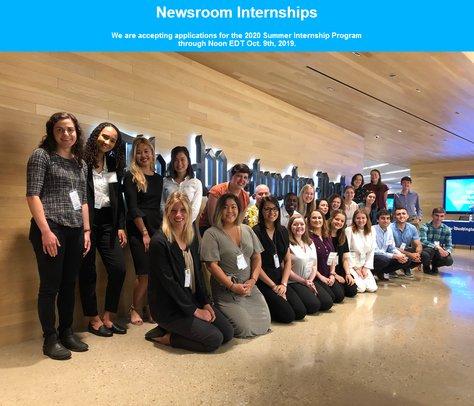 The Washington Post 2020 Newsroom Summer season paid Internship for young experts