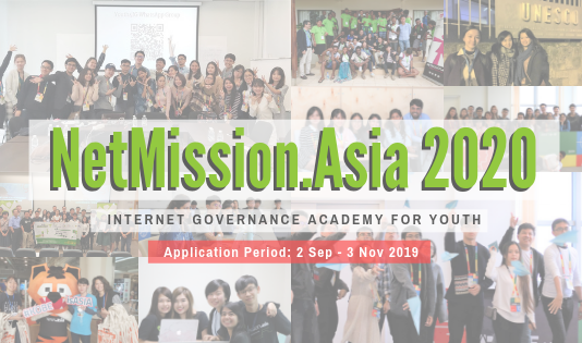 NetMission.Asia 2020– Web Governance Academy for Youth