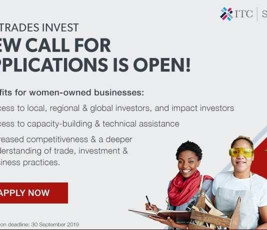 ITC SheTrades Invest Program 2019 for Ladies Business Owners