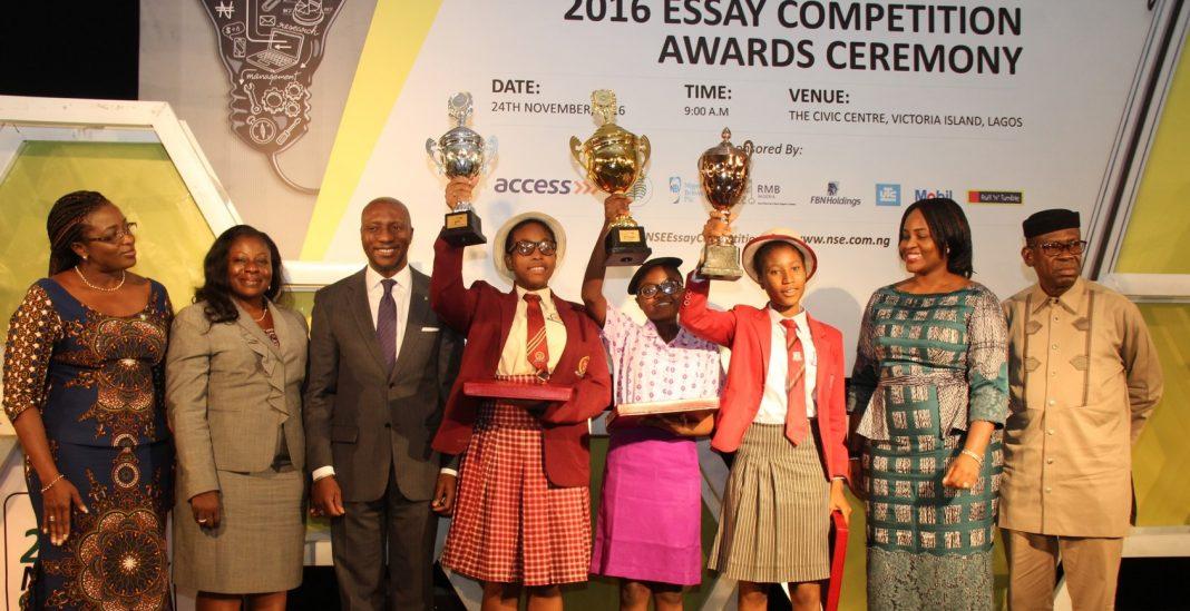Nigerian Stock Market (NSE) Essay Competitors 2019 for Trainees in Senior Secondary Schools (Win prize money plus more)