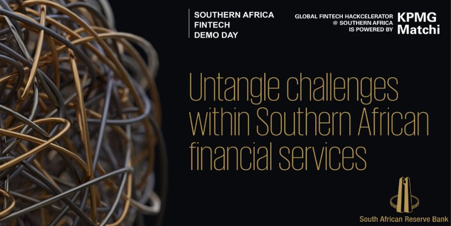 SARB International Fintech Hackcelerator @ Southern Africa Competitors 2019 (Moneyed to participate in the 2019 Singapore Fintech Celebration)