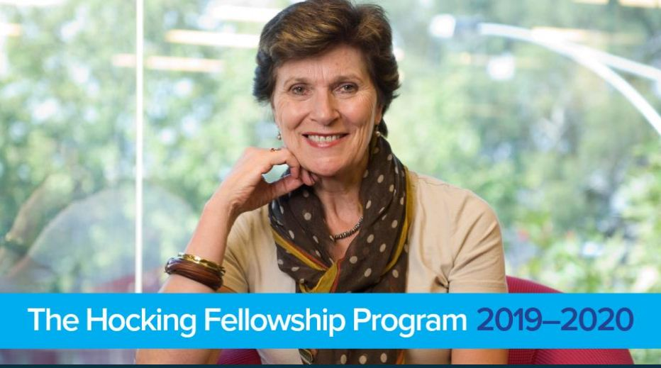 Require Applications: Hocking Fellowship Program 2019-2020(As Much As $20,000 AUD)