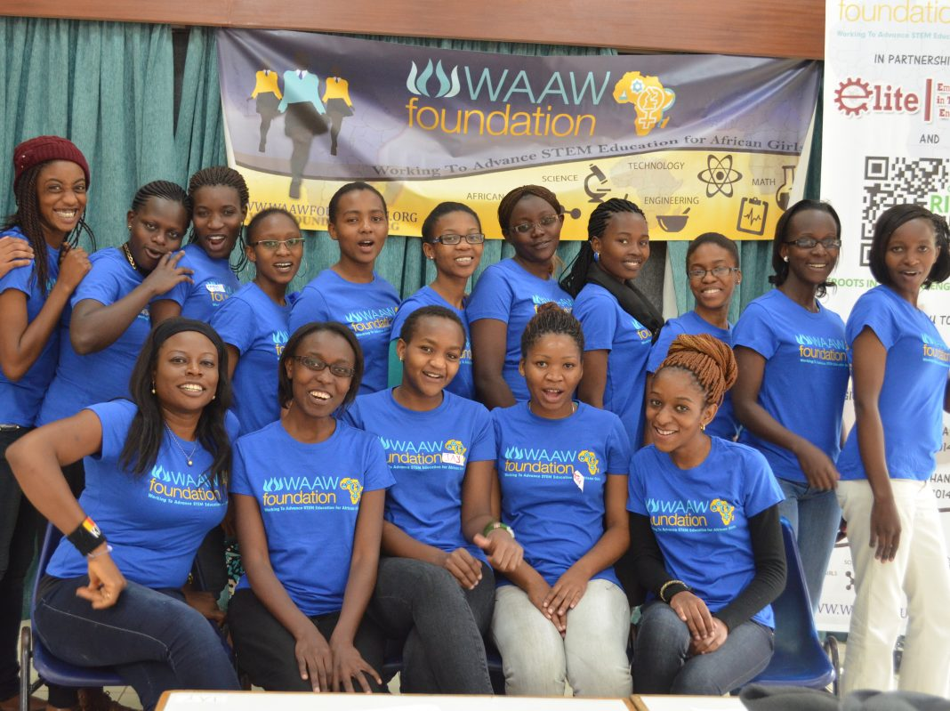 WAAW Structure STEM Scholarships for Female Trainees 2019/2020
