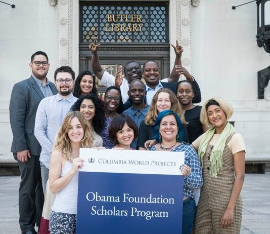 Obama Structure Scholars Program 2020-2021 at Columbia University (Fully-funded)