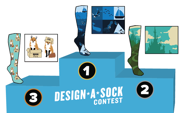Sock It to Me Design-a-Sock Contest 2019 (Prizes as much as $2,000)