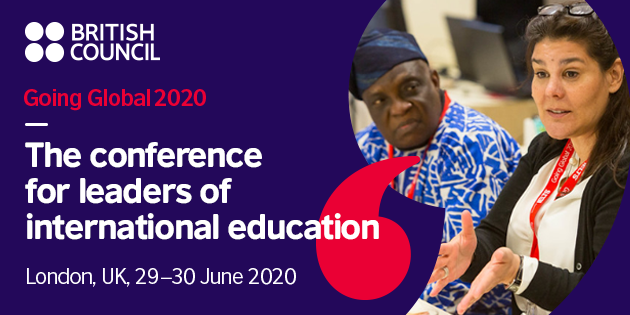 Require Propositions: British Council Going International 2020 Conference for tertiary education leaders– London, UK.