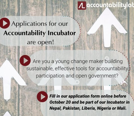 Responsibility Laboratory Responsibility Incubator Program 2020 for civic innovators