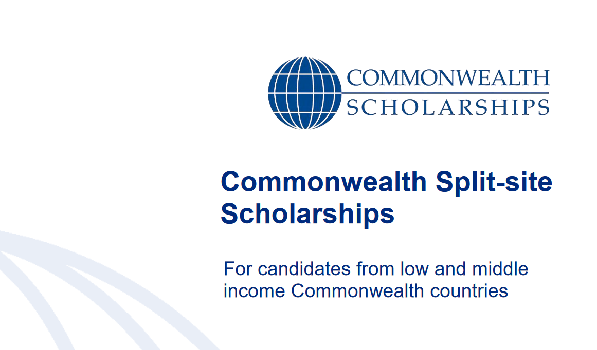 Commonwealth Split-site PhD Scholarships 2020 for Low and Middle Earnings nations (Fully-funded)