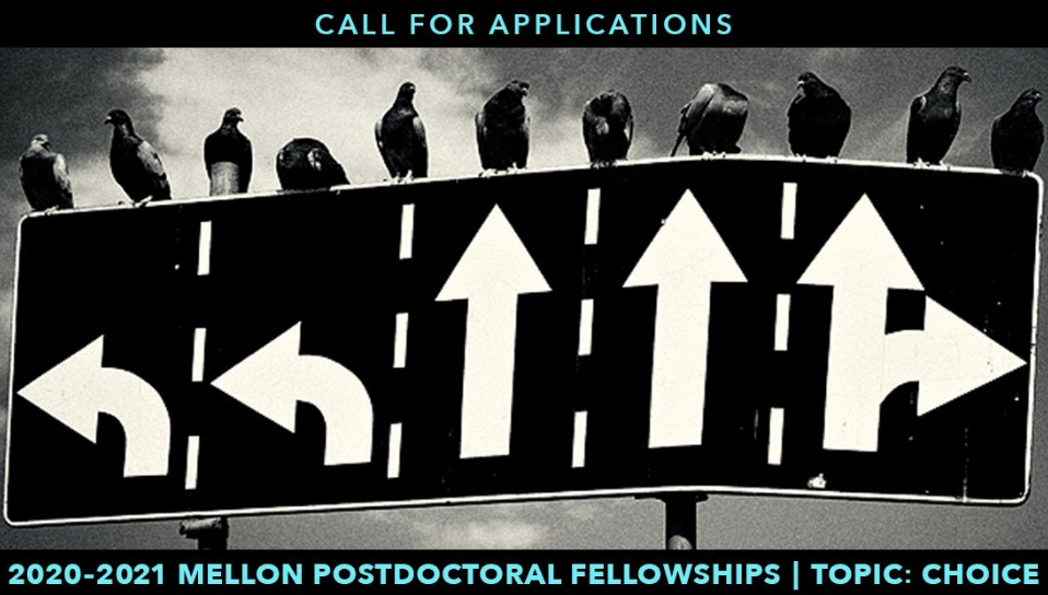 Andrew W. Mellon Postdoctoral Fellowship 2020-2021 in the Liberal Arts at the University of Pennsylvania (Stipend of $57,900)