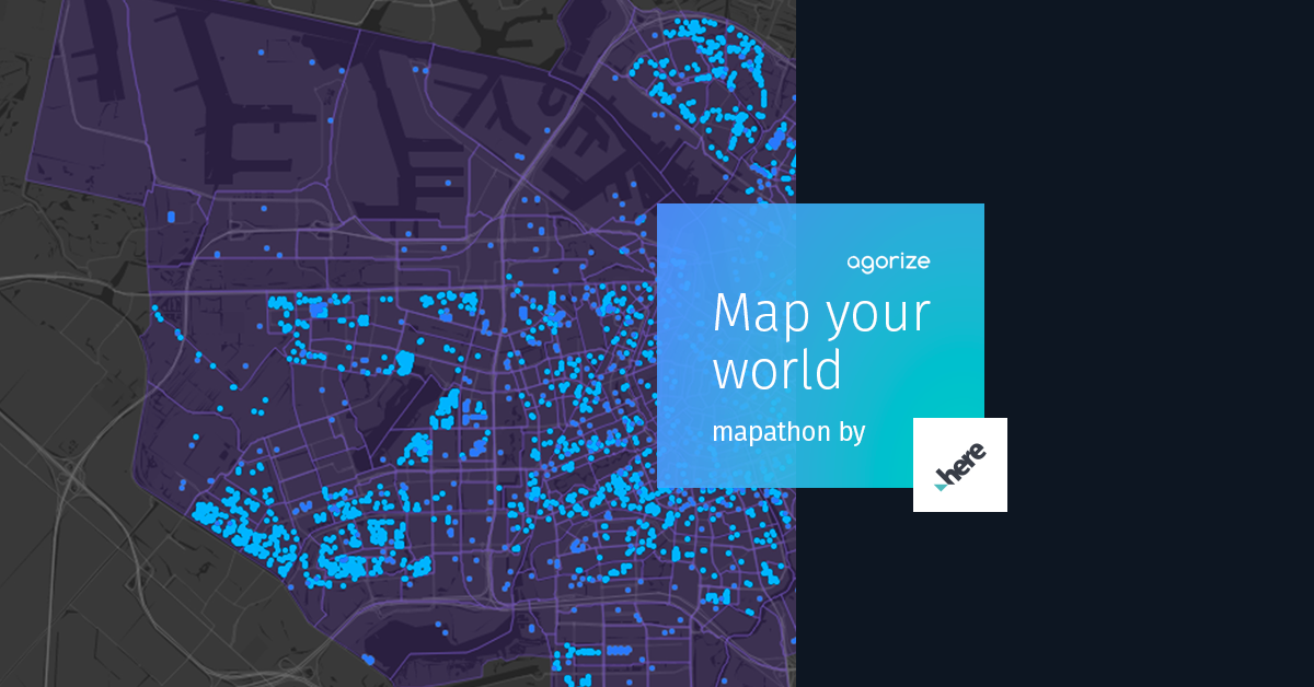 HERE Mapathon: Map Your World 2019 (Narrate utilizing information and visualization and win as much as USD $10,000)
