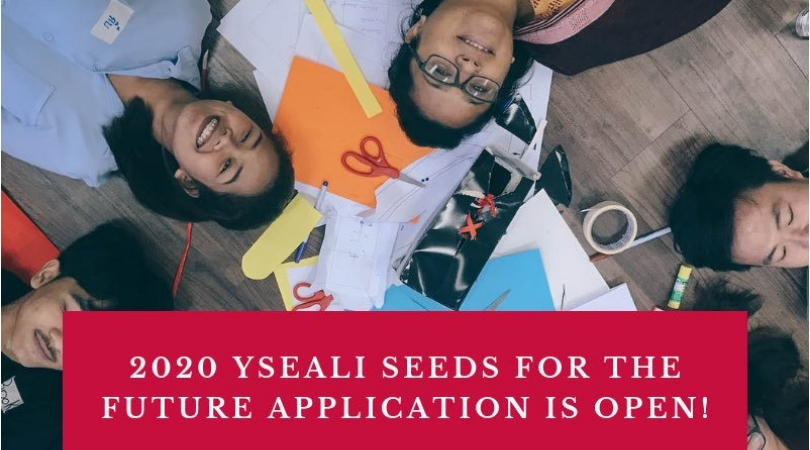 Young Southeast Asian Leaders Effort (YSEALI) Seeds for the Future Grants Competitors 2020 (approximately $15,000)