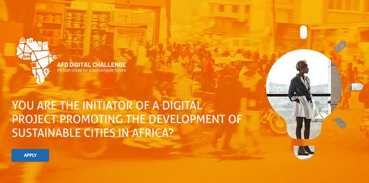 AFD Digital Difficulty 2019 for Advancement of Sustainable Cities in Africa (20,000 EUR reward)