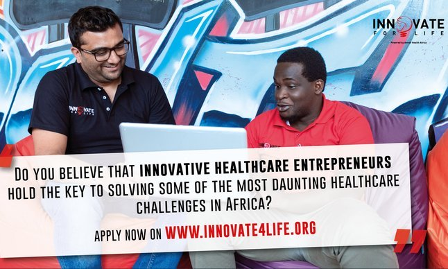 Innovate for Life Fund 2020 for African Health Business Owners
