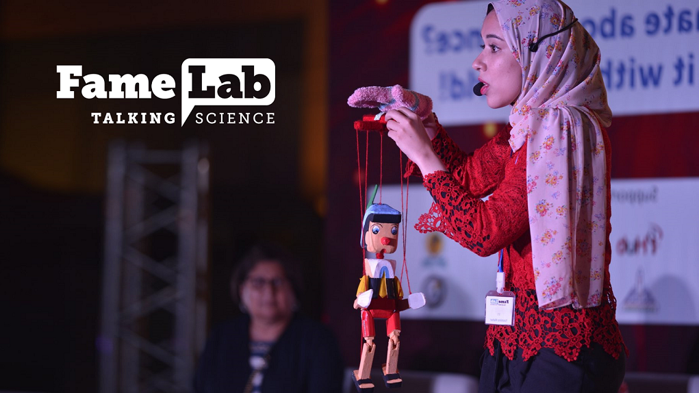 British Council Egypt FameLab Competitors 2020 (Win a journey to Cheltenham Science Celebration in the UK)