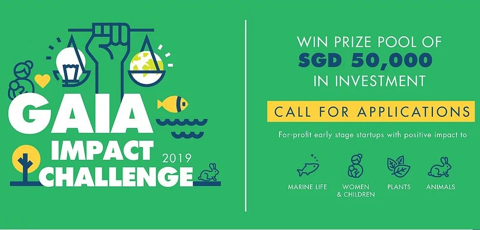 GAIA Effect Obstacle (GIC) 2019 for Early-stage Start-ups (SGD 50,000 reward and more)