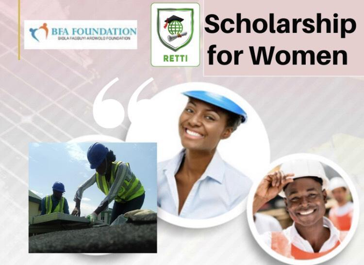 Scholarship for Nigerian Females for Solar PV/ Inverter Style and Setup Training 2019