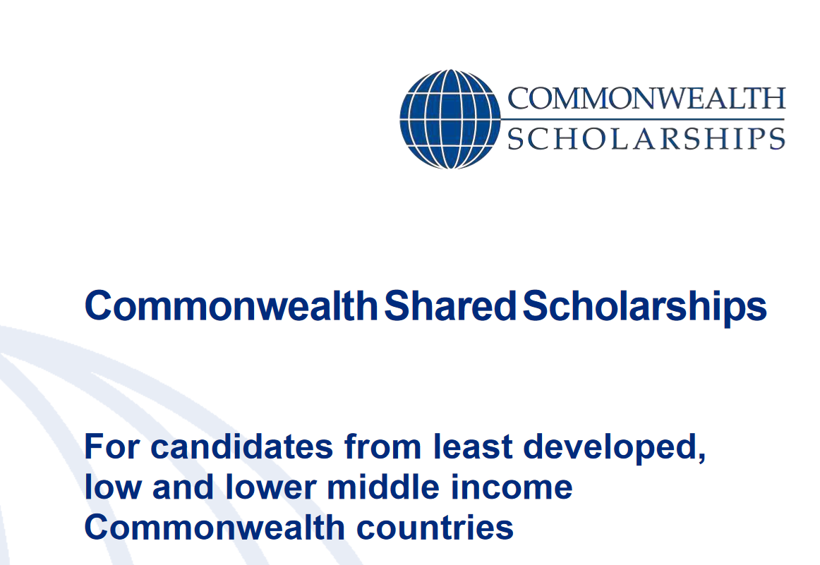 Commonwealth Shared Scholarships 2020 for Trainees from Establishing Nations for research study in the UK (Totally Moneyed)