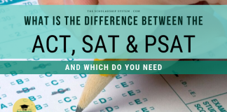 What is the Difference Between the ACT, SAT, and PSAT, and Which Do You Need?