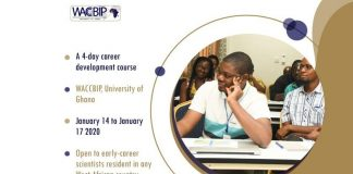 WACCBIP Early Career Personal Development Course 2020 at the University of Ghana