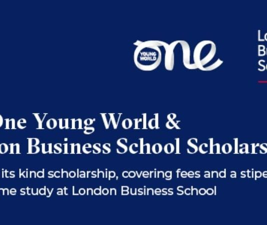 One Young World & London Business School Scholarship 2020/2021 for Master's Study in the UK (Fully-funded)