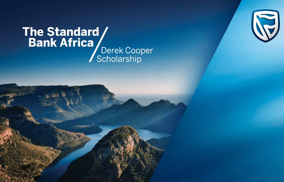 Standard Bank Derek Cooper Africa Scholarships 2020/2021 for Young Africans to study in the UK (Fully Funded)