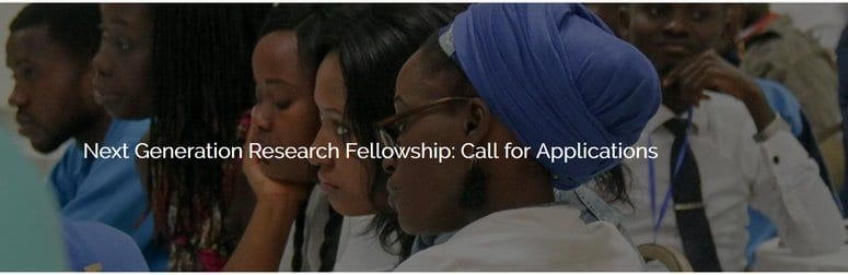 WACSI Next Generation Research Fellowship 2020 for young African Researchers