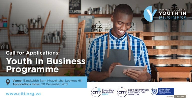 CITI 2020 Youth in Business Programme for young South Africans