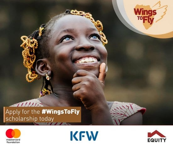 Equity Group WingsToFly Mastercard Foundation Scholarships 2020 for young (financially challenged students ) Kenyan students