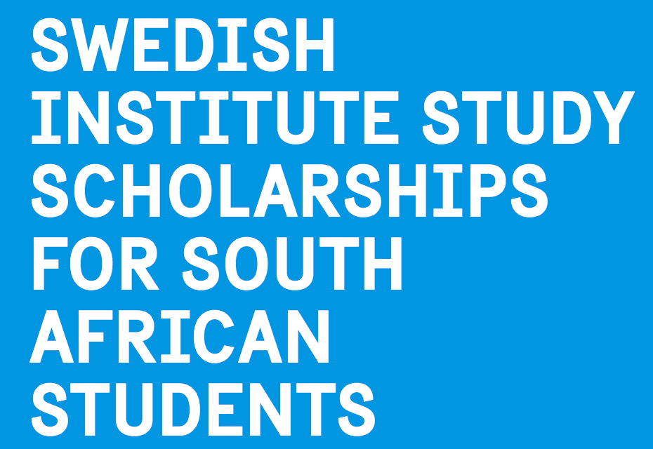 Swedish Institute Study Scholarships (SISS) 2020/2021 for South African Citizens (Fully Funded to Sweden)