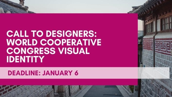 World Cooperative Congress visual identity: call to designers (€5000 Prize)