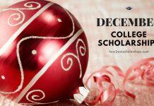 College Scholarships with December Deadlines