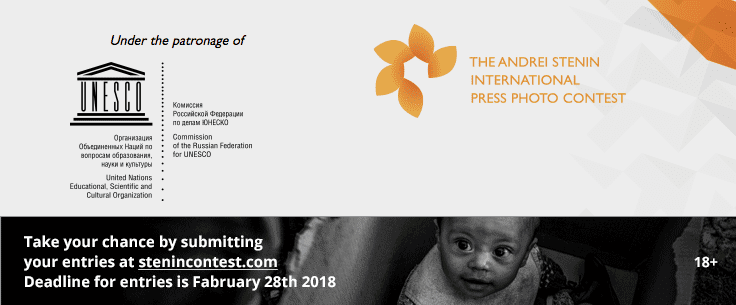 UNESCO Andrei Stenin International Press Photo Contest 2020 for young photojournalists (RUB 800,000+ prize)