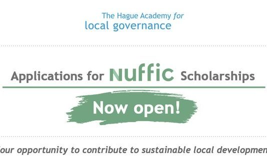 Hague Academy of Local Governance/Nuffic Scholarships 2020 for young civil servants (Fully Funded to The Netherlands)