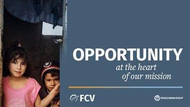 World Bank Group (WBG) Fragility, Conflict, and Violence (FCV) Job Fair 2020