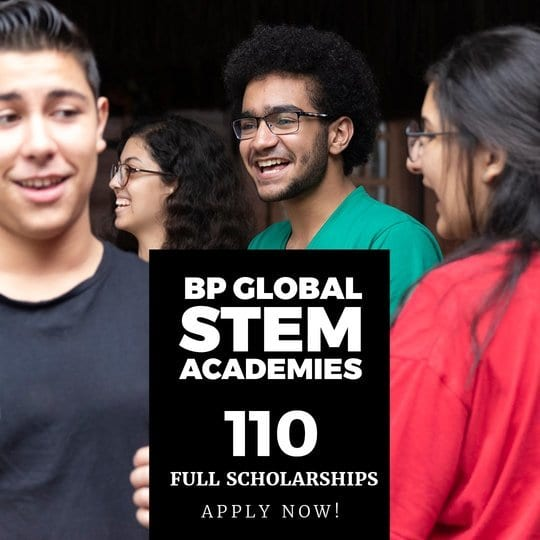 British Petroleum (BP) Global STEM Academies Scholarships ...