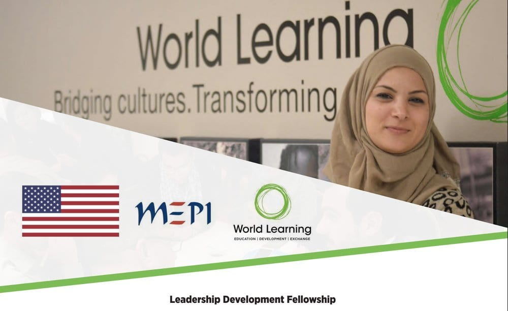 U.S.-Middle East Partnership Initiative (MEPI) Leadership Development Fellowships 2020/2021 for MENA youths (Fully Funded to USA)