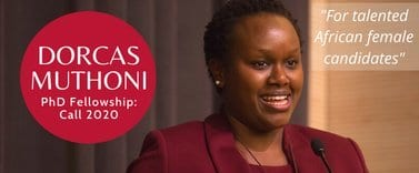 Dorcas Muthoni PhD Fellowship 2020 for talented African Females (Funded to Barcelona, Spain)