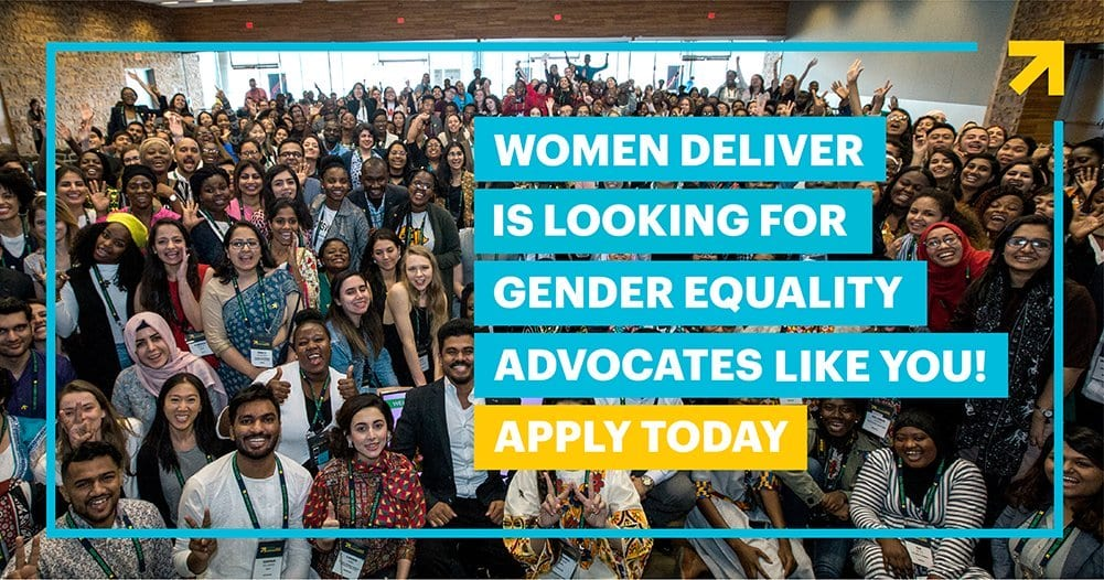 Women Deliver Young Leaders Program 2020 for young Advocates (Fully Funded to Women Deliver 2022 Conference)
